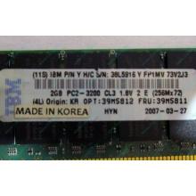 IBM 39M5811 39M5812 2Gb (2048Mb) DDR2 ECC Reg memory (Хабаровск)