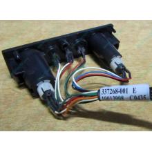HP 224998-001 в Хабаровске, кнопка включения питания HP 224998-001 с кабелем для сервера HP ML370 G4 (Хабаровск)