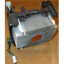 Кулер для процессоров socket 478 с медным сердечником внутри алюминиевого радиатора Б/У (Хабаровск)