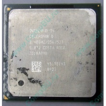 Процессор Intel Celeron D (2.4GHz /256kb /533MHz) SL87J s.478 (Хабаровск)